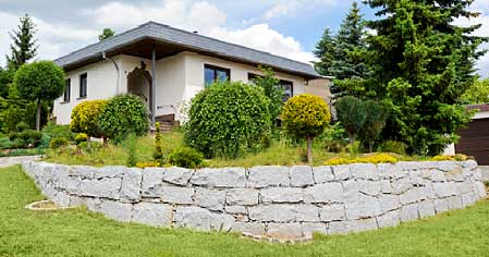 trockenmauer granit